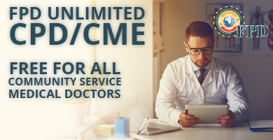 Free FPD Unlimited CPD/CME for Community Service Doctors