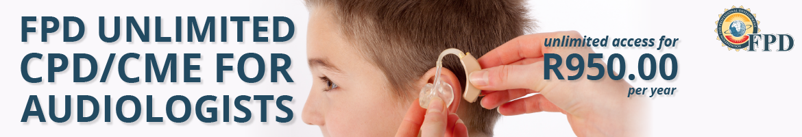 FPD Unlimited CPD/CME for Audiologists