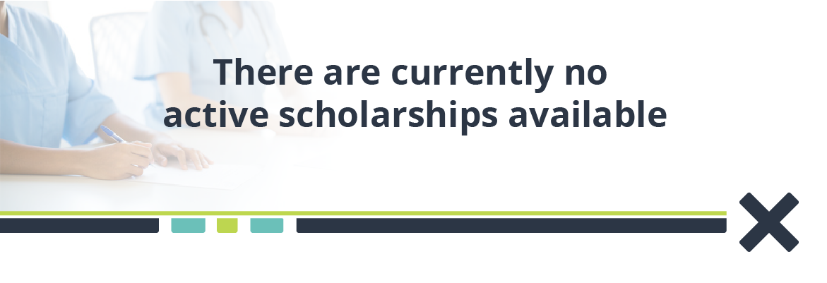 There are currently no active scholarships available